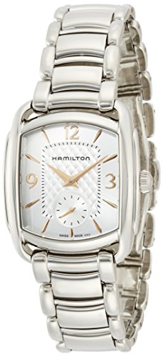 Hamilton Women's Analogue Quartz Watch with Stainless Steel Strap H12451155