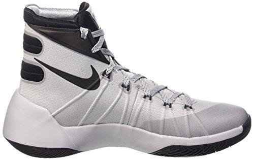 Nike Hyperdunk 2015, Chaussures de Sport Homme Gris (Wolf Grey/Black-White)