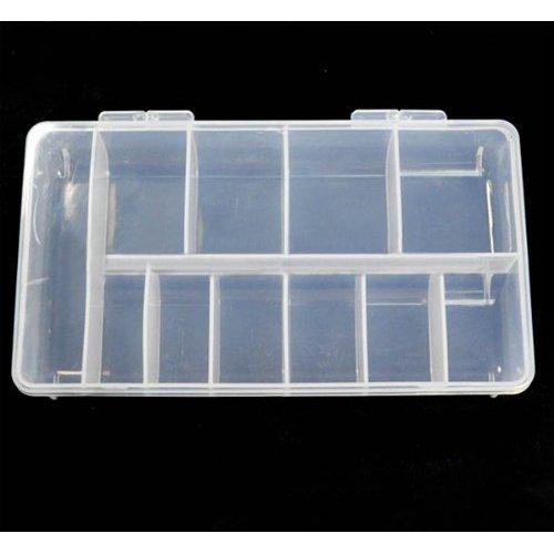 Cas de boîte de stockage vide BF / compartiments pour acrylique Nail Art / gemmes / strass Diamante (11 compartiments)