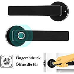OWSOO Bloqueo de Huellas Dactilares Inteligente Cerradura de Puerta de Acero Inoxidable Cerradura Electrónica Puerta de Seguridad Automática