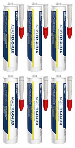 Avenarius Fix-O-Flex Klebemasse Dichtmasse Flexkleber für feuchte Untergründe (6)
