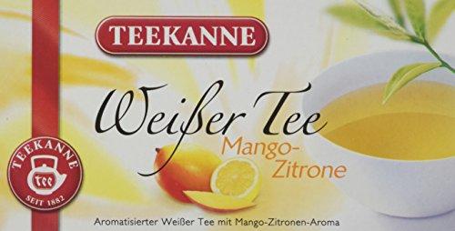 Teekanne Weißer Tee Mango-Zitrone 20 Beutel, 6er Pack