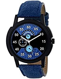 Jiya Enterprise New Stylish Leather Strap 002 Analog Watch - For Men
