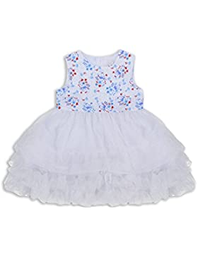 The Essential One - Bebé Infantil Niñas - Vestido de Princesa Fiestas - Blanco - EOT385