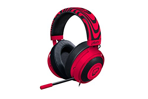 Razer Kraken Pro V2 - Oval Ear Cushions - Analog Gaming Headset for PC, Xbox One, Playstation 4, and Nintendo Switch - PewDiePie Edition (Refurbished) Analog Headset