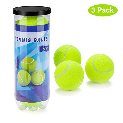 Pallina da Tennis, Unisex - Adulto Alta Elasticità Allenamento Professionale Tennis Esercizio Fisico per Tutte Superfici di Gioco Unisex Adulto,Divertimento all'aperto Spiaggia di Svago Istruzione