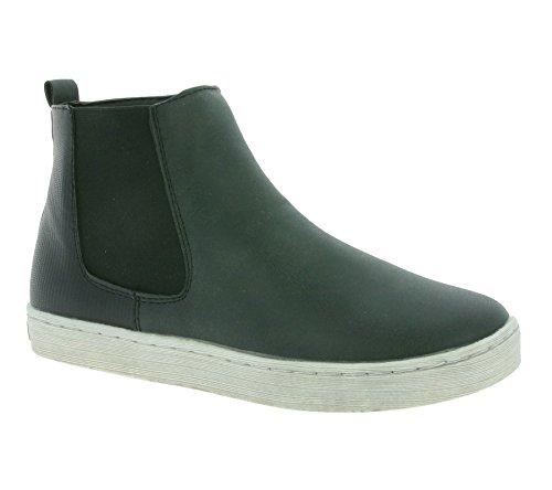 SPROX Stil Schuhe Kinder Chelsea-Boots Stiefel Schwarz 282632 Schwarz