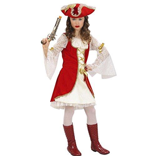 Piratin Kostüm Kinder Piratenkostüm 158 cm 11-13 Jahre Piratinnenkostüm Mittelalter Piratenkleid Mittelalterkostüm Seeräuber Musketierkostüm Renaissance Historisches Piratenoutfit Freibeuter Karnevalskostüme (Renaissance Kostüme Mädchen)