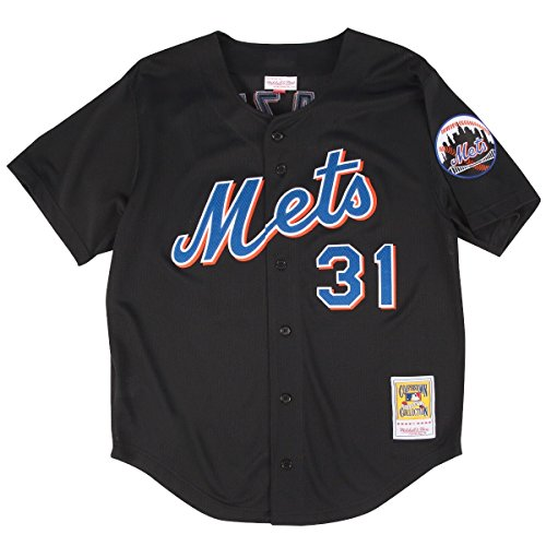 mike-piazza-new-york-mets-mitchell-ness-mlb-authentic-button-up-2000-bp-jersey-maillot
