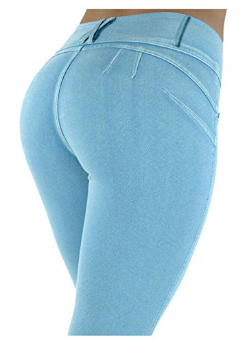 Bestfort Jeans Damen Denim-Jeans-neue Art Stretchy Hosen Push Up Hüfte Elegant Pants Casual Skinny - Party-hosen