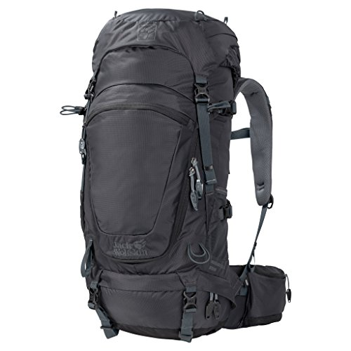 Jack Wolfskin Damen Highland Trail 34 Wandern Outdoor Trekking Rucksack, Phantom, 53x31x15 cm