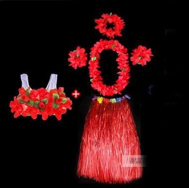 WDBS-Guirnalda-de-Hawai-danza-de-la-falda-ms-gruesa-porristas-danza-falda-de-hierba-un-conjunto-de-seis-piezas-de-80-cm-red