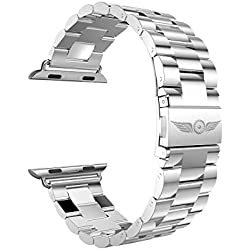 Aviato Apple Watch (38 mm Stainless Steel Bracelet Silver