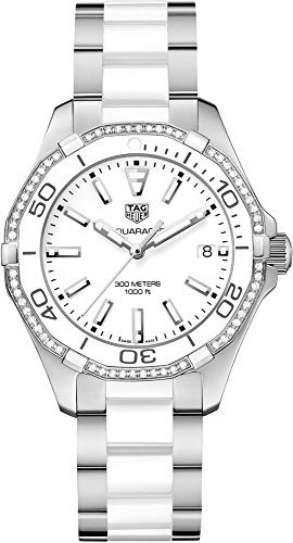 Tag Heuer Aquaracer White Dial Ladies Watch WAY131H.BA0914