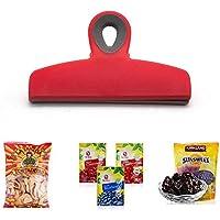 KOBWA Chip Bag Clips, große und dauerhafte Breite Bunte Chip Clips, Wiederverwendbare Tasche Grip Clips für Snacks... preisvergleich bei billige-tabletten.eu
