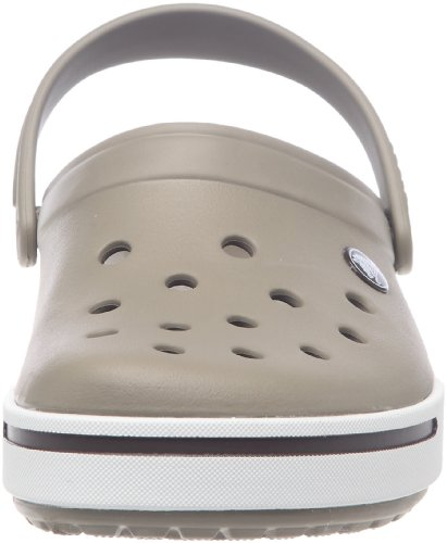 Crocs Unisex-Erwachsene Crocband Clogs Braun (Khaki/Espresso)