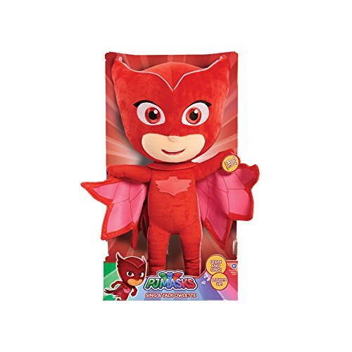 PJ MASKS Kids Feature Plush Owlette