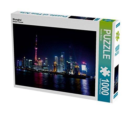 Preisvergleich Produktbild Shanghai 1000 Teile Puzzle quer (CALVENDO Orte)