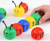 GoAppuGo Caterpillar Number Learning Toys for Babies Infants, Gifts for 2 3 4