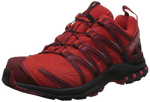 Salomon Herren XA Pro 3D GTX Traillaufschuhe, Rot (Fiery Red/Black/Red Dalhia 69), 40 EU