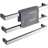 LIBINA - Calientatoallas Calentador de Toallas eléctrico de Acero Inoxidable 304 baño toallero Colgante de baño