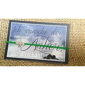 ALSTERschmuck – Glücksarmband 2019 – Kleeblatt grün