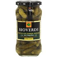 Rioverde - Pepinillos sabor anchoa - Muy pequeos - 345 g - [pack de 3]