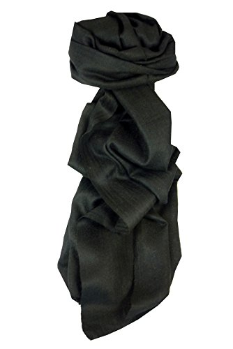 foulard-en-cachemire-fin-motif-karakoram-birds-eye-weave-black-approprie-pour-hommes-et-femmes-par-p