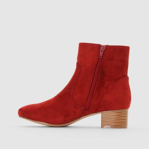 Mademoiselle R Frau Boots Mit Absatz Rotbraun
