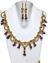 Multi Colour Beads Necklace Set