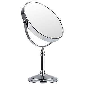 Songmics 10 fach kosmetikspiegel 8 inch schminkspiegel - Amazon schminkspiegel ...