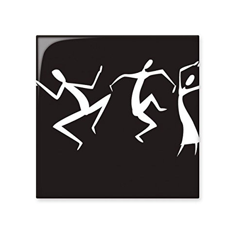 DIYthinker Das alte Ägypten Ägyptischer Tanz Abstrakte dekorative Muster-Opfer Kunst Silhouette Keramik Bisque Fliesen für Dekorieren Badezimmer-Dekor Küche Keramische Fliesen Wandfliesen S -