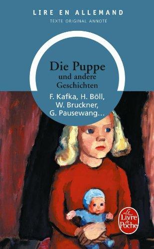 Die Puppe und andere Geschichten par Franz Kafka