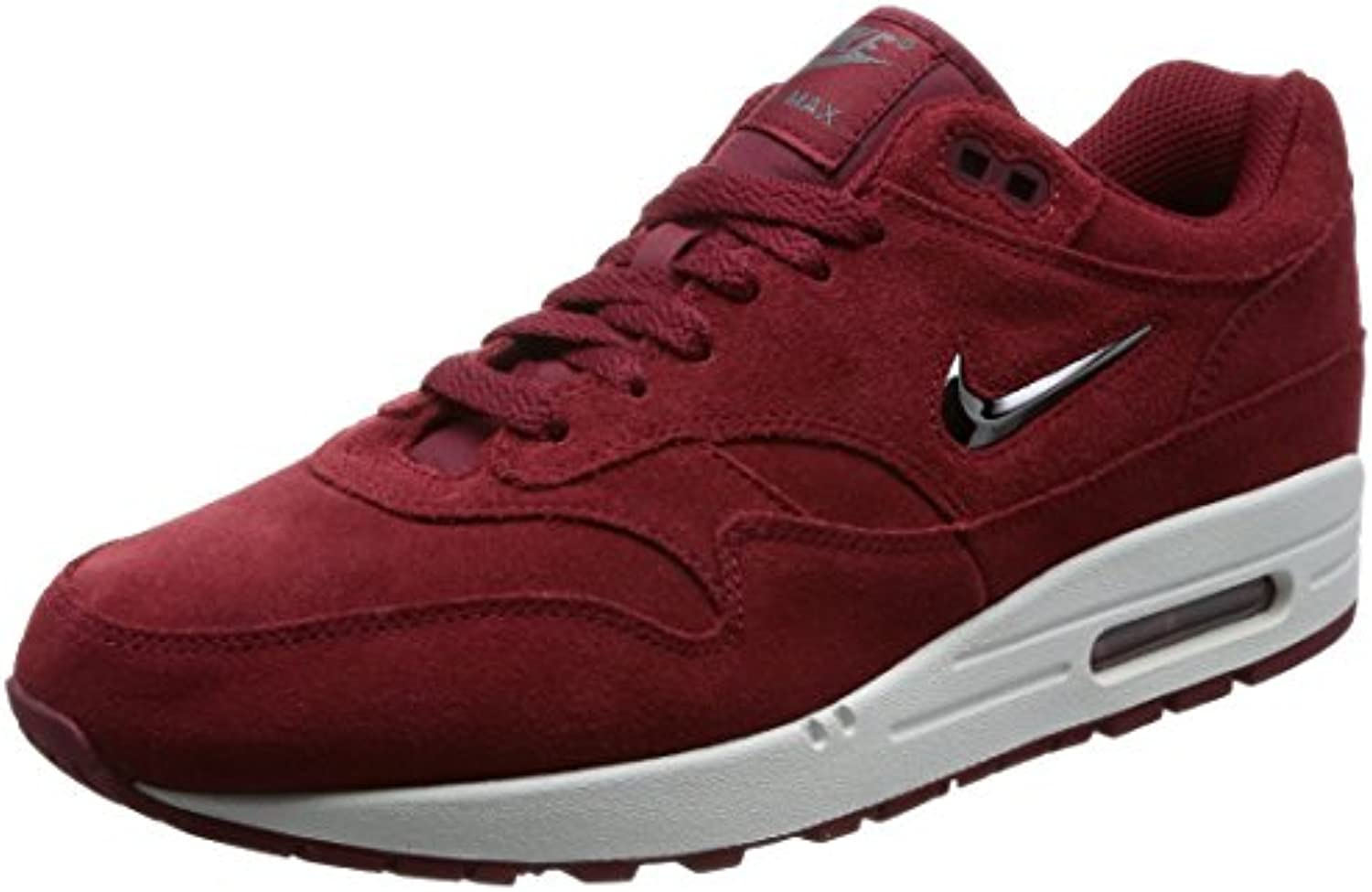 Nike Air Max 1 AM1 Premium SC Special Category  Team Red  Velvet Jewell Retro, Schuhe Herren