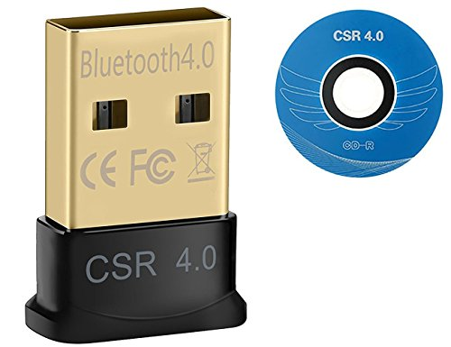 Act- Bluetooth 4.0 USB Adapter | V4.0 verbesserte Energieeffizienz | Bluetooth Class 4.0 Technologie | Plug Play | Neues Modell | Windows 10 / 8.1 / 8 / 7 / Vista / XP 32-Bit und 64-Bit