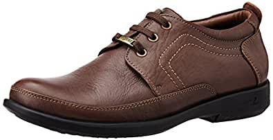 EGOSS Men's Brown Leather Formal Shoe - 11 UK