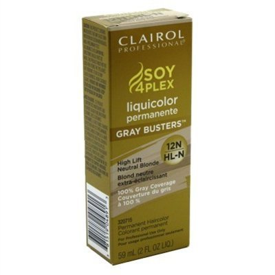 Clairol Blonde Lift (Clairol Professional Liquicolor Perm 12N/Hl-N High Lift Neutral Blonde 2oz (2 Pack) by Clairol)