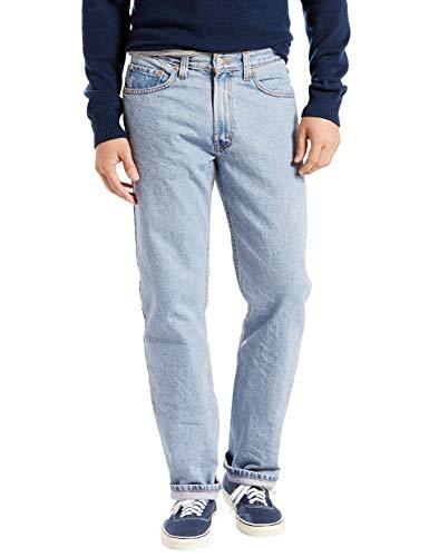 Levi's 505 ® Regular Fit Jeans in Light Stonewash, 33W x 32L, Light Stonewash -