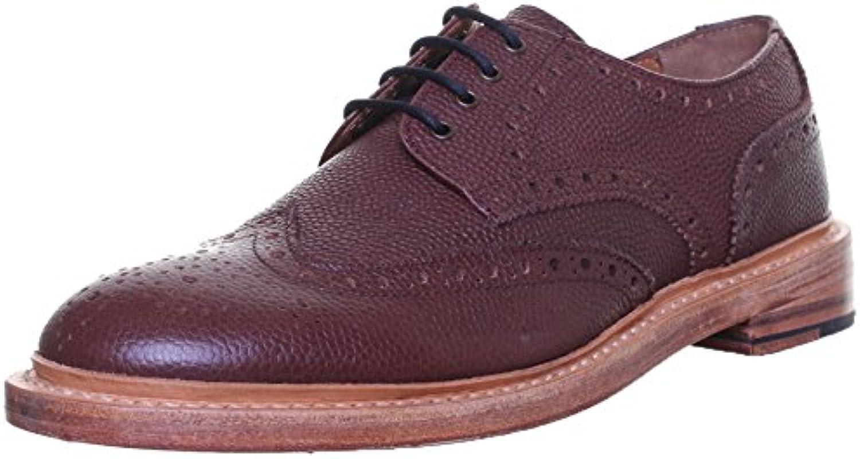 Dylan Justin Reece aus mattem Rahmengenäht Herren Leder Schuhe