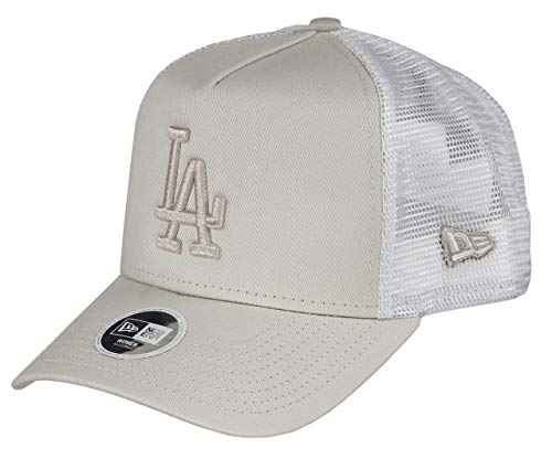 New Era Los Angeles Dodgers MLB Trucker Cap New Era Damen Baseball Verstellbar Beige - One-Size