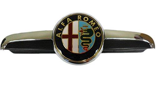 Véritable Alfa Romeo 156 à partir de rénovation (modèles 2003) Grille Bonnet badge et Plinth 156045002