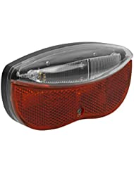 Eclairage arrière 3 LED Super Bright rouge pour porte-bagage facile à installer réflecteur incorporé lampe lumière éclairage arrière vélo Remplacement Garanti Sans Poser De Question