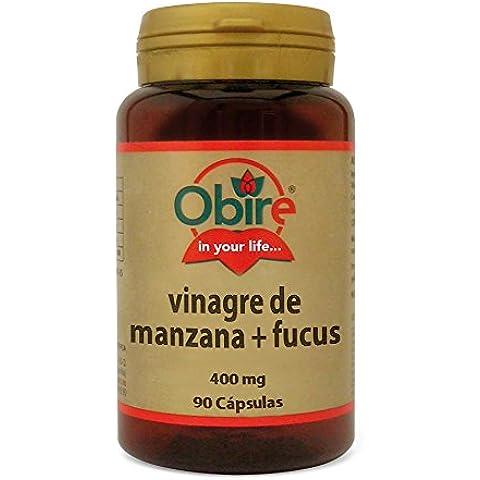 VINAGRE DE MANZANA + FUCUS 400 mg 90 cápsulas