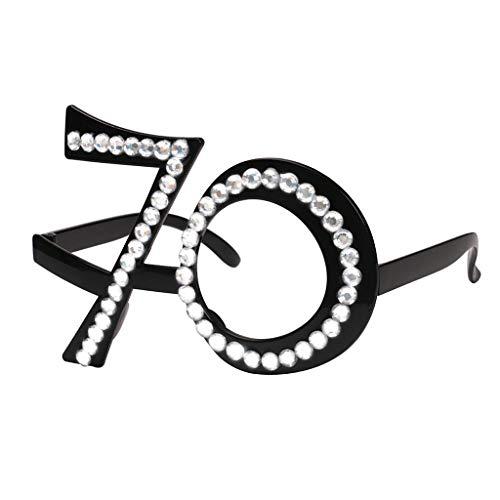 B Blesiya Partybrille Spaßbrille Foto Requisiten Lustige Spielzeug für Geburtstag Party Dekoration - 70