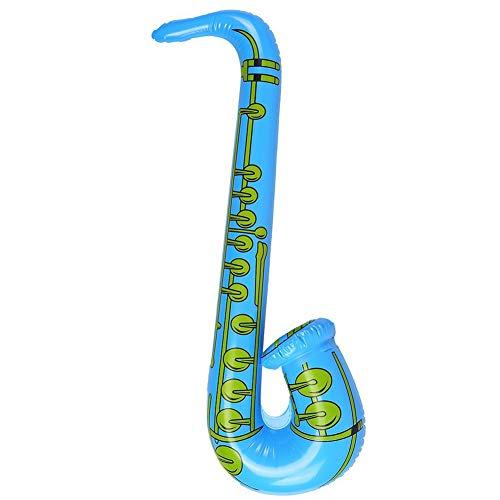 Homiki Sungpunet Giocattolo educativo per i Bambini Gonfiabile del Sassofono 70 Centimetri Colore Casuale 1 PC