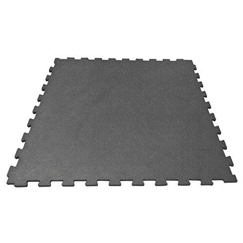 Preisvergleich Produktbild DFG Bodenschutzplatte für Fitnessstudios (1x1m)