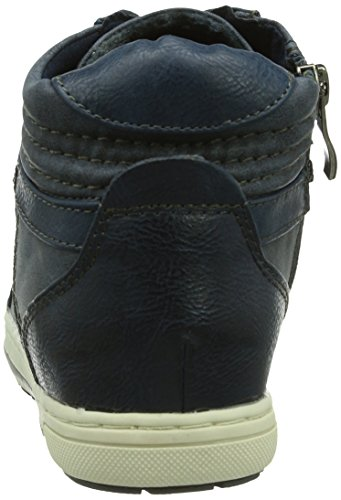 Marco Tozzi Cool Club 45204 Mädchen Hohe Sneakers Blau (Navy Ant. Comb / 815)
