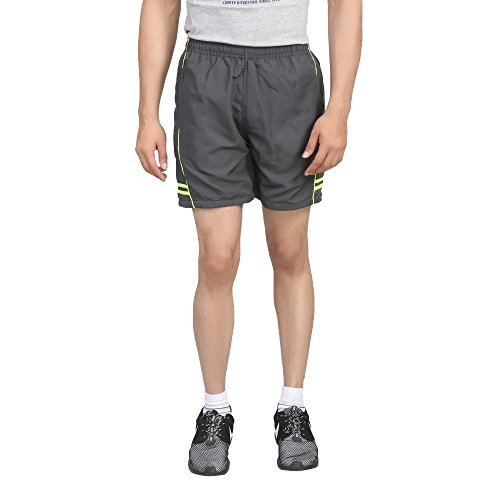 Trendy Trotters Men's Sports Shorts-TTJ1SHORTS_AD_GREY_FLU_XL