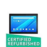 (CERTIFIED REFURBISHED) Lenovo Tab4 10 Plus Tablet (10.1 inch, 64GB, Wi-Fi + 4G LTE), Black
