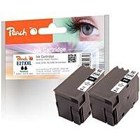Peach PI200-391 dobles cartuchos compatibles con Epson T2791, número 27XXL, negro